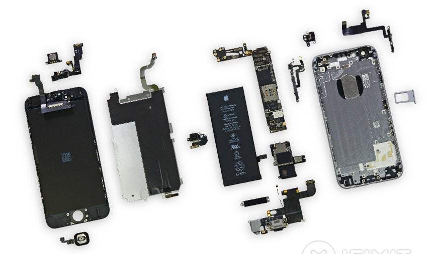 Figure 3. The iPhone 6 Teardown