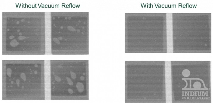 With & Without Vacuum Reflow