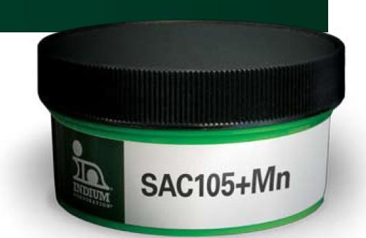 SAC105 + Mn paste