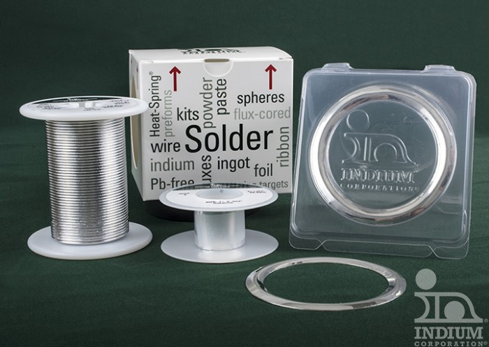 Indium Wire and Seals for Cryogenic Applications