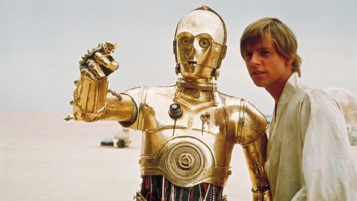Figure. Even C-3PO needed Luke Skywalker as a coach.