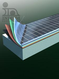 Indium solar material 1