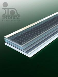 Indium solar material 2