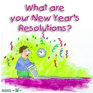 What's your New Year Resolution?