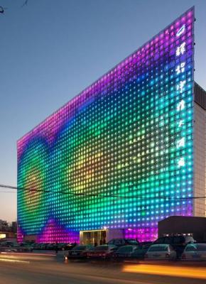 A Huge LED Lightening Board