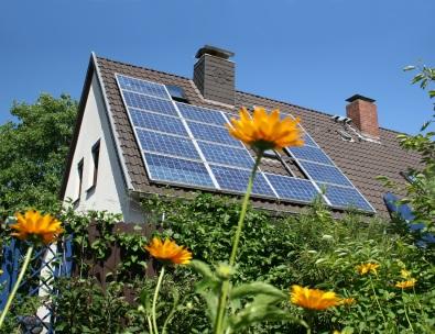 Solar Module on Roof