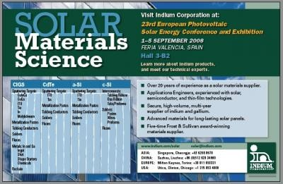 23rd European Photovoltaic Solar Energy Conference and Exhibition