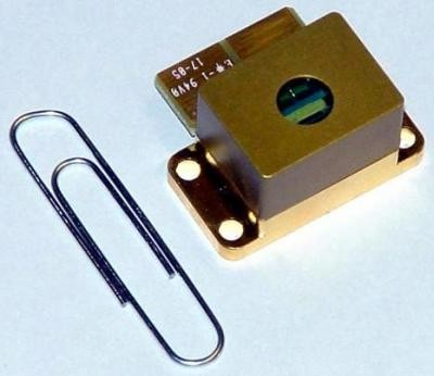 A typical LASER component before heat-sink mounting with a compressible Heat-Spring. Image Source: http://news.thomasnet.com/images/large/469/469336.jpg.