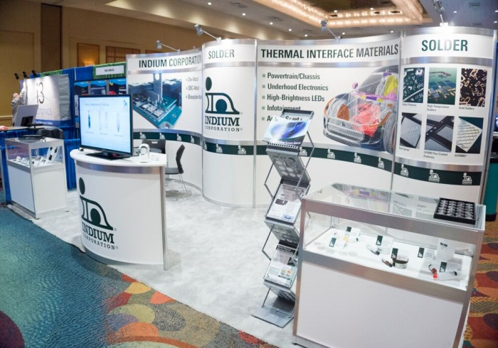 The Indium Corporation exhibits at numerous trade shows and events.