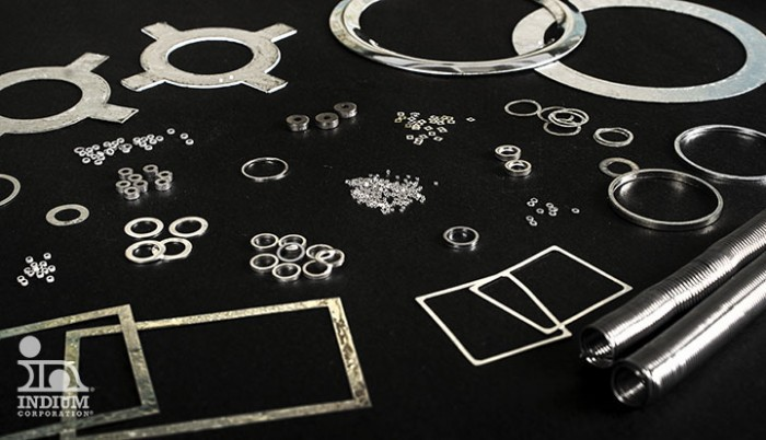 Indium Gaskets for Sealing
