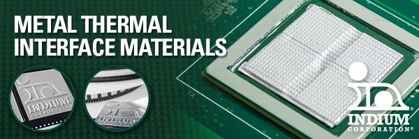 Indium Metal Thermal Interface Material